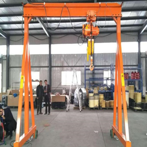 Lifting weight and span of electric single-beam crane