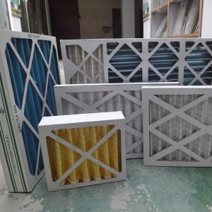 16x25x1 MERV8 MERV9 MERV10 MERV11 carton Filtres Fournaise Frame