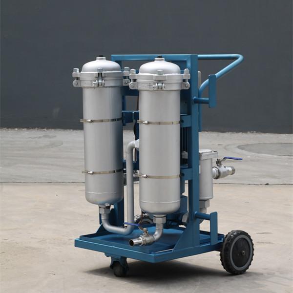 LYC-série B de haute précision Filtre à huile mobile Photo descriptive
