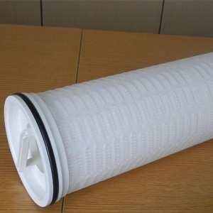 Large flow folding filter 40/60 inch replacement water filter element