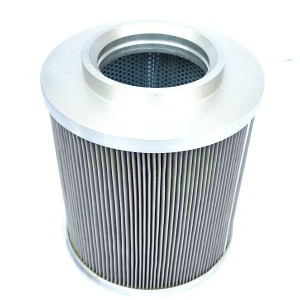 Stainless steel oil suction hydraulic filter return pipe passing through the filter barrel ultra-precision diesel filter