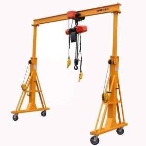 Light duty 5 ton portable mobile gantry crane price