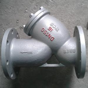 y de type filtre à eau en acier inoxydable DN310