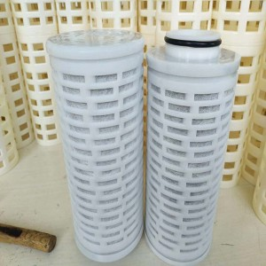 5 micro cartridge water filter housing