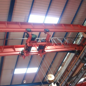 Electric hoist double beam bridge crane 3-32tons