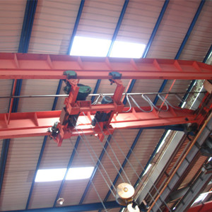 Maintenance and use of double beam crane
