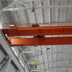 Dual beam electric crane